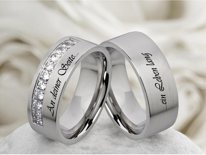 2-Eheringe-Trauringe-Verlobungsringe-kostenloser-Aussenlasergravur-M056