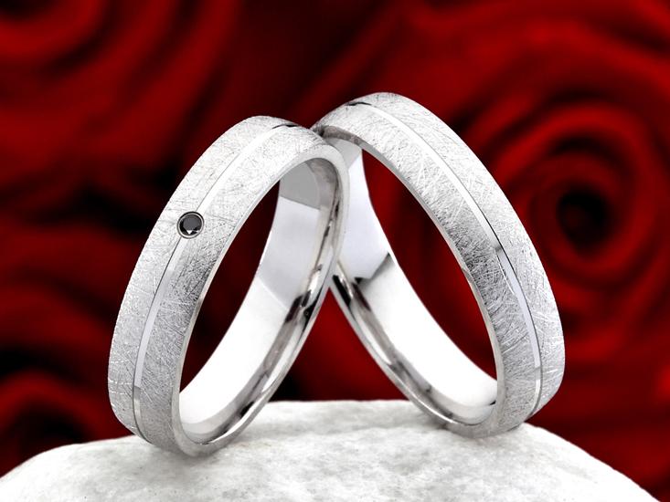 925 Silber Eheringe 8mm Breit Trauringe Anlauf geschützt Partnerringe