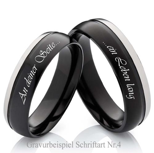 de mariage bagues de fiançailles avec des messages individuels de ...