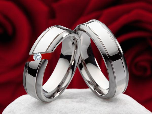 ... sur anneaux damitié Anneau De Mariage + anneau Gravure TD106