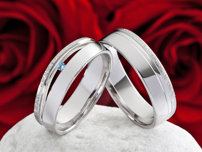 Eheringe silber  Eheringe Verlobungsringe 925 Silber Ringe mit echten Topas & Ring ...