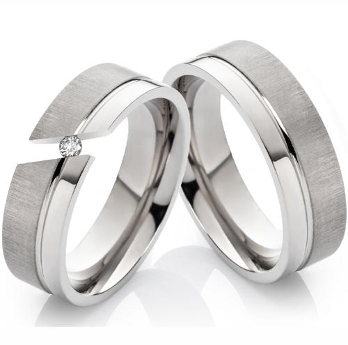 2 Ringe Verlobungsringe Eheringe Trauringe /& Gravur