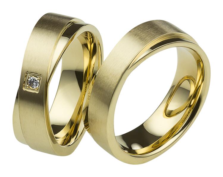 anneaux Anneaux de mariage Anneaux de mariage de fiançailles en acier ...